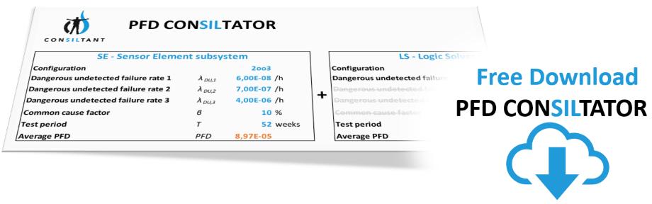PFD consiltator - PFD berekeningstool
