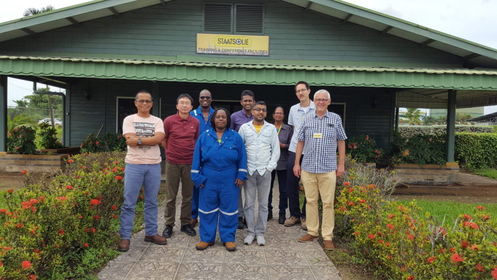 Training course by Consiltant BV in Suriname