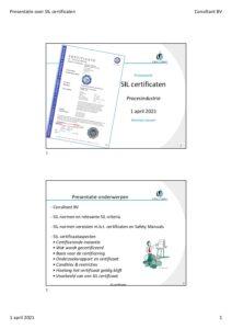 Presentatie over SIL certificaten pdf